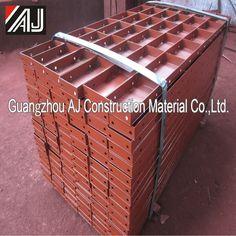 Prefabricado Modular encofrado sistema de Metal encofrado para la construcción de edificios de persiana