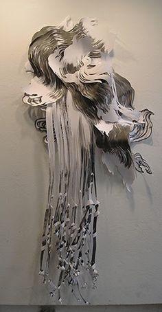 """Mia Pearlman da IL RAMO D'ORO """"L'Arte della carta - Paper Art"""" https://ilramodoro-katyasanna.blogspot.it/2014/01/arte-di-carta-paper-art.html"""