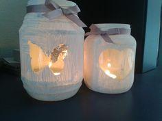 Waxine licht houders