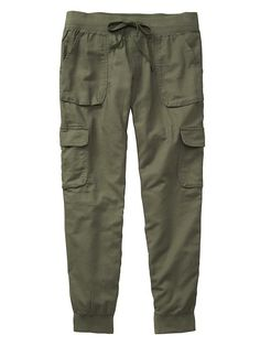 Factory cargo jogger pants Product Image -- I like these! I wonder if they would be flattering on me