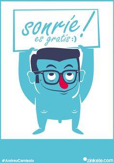 #AndreuCamiseta mi diseño para el concurso de camisetas de andreu buenafuente