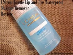 L'Oréal Gentle Lip and Eye Waterproof Makeup Remover ReviewReview by SwarnaliHi there, fellow makeup lovers!Radha has been a friend to me ever since I started writing about makeup and I cannot tell you guys how much of a sweetheart she is! So it is absolutely a pleasure for me to get to review a pro