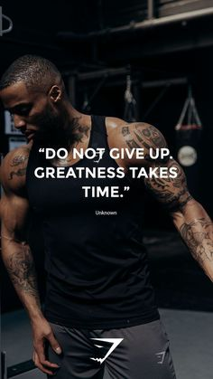 "Greatness takes time"" – Unknown. Greatness takes time"" – Unknown. Fitness Studio Motivation, Gym Motivation Quotes, Gym Quote, Fit Girl Motivation, Weight Loss Motivation, Motivation Inspiration, Fitness Inspiration, Workout Motivation, Cycling Motivation"