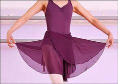 Novedades Paola: Trazado Falda cruzada Ballet