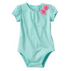 Jumping Beans® Bow Bodysuit - Baby Girl