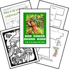 Rainforest Unit - The Great Kapok Tree download activity