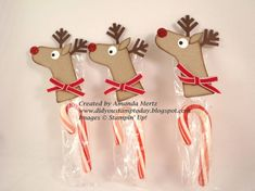 Stocking Punch Reindeer by mandypandy - Cards and Paper Crafts at Splitcoaststampers