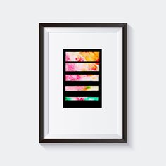 Watercolor Print. Printable art. If you, like me, love geometry, watercolors and minimal design you will love this unique wall art design. Download it and easily transform your house into a modern and stylish home that truly reflects your unique character. Watercolor Print. Printable art. Minimal and modern Print. Watercolor Printable Wall Art. Abstract and Colorful Print. Geometry Print.
