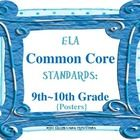 These 9th - 10th Grade COMMON CORE ELA Posters are sure to add vibrant color to your classroom decor! These vibrant colored posters will surely be ...