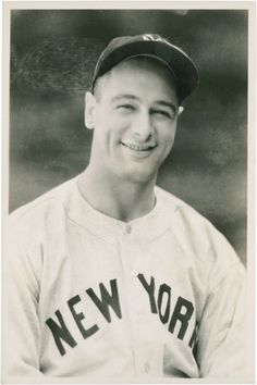 Lou gehrig arguably best player ever! and most courageous