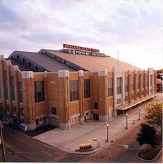 The (Pepsi) Coliseum, Indiana State Fair grounds.
