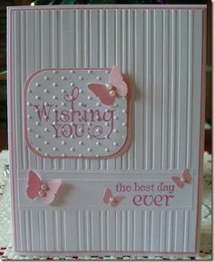 love the embossing