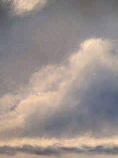 Nimrod No.1 - Detail of Oil Painting on canvas by Nial Adams  #BigNorfolkSkies #OilPainting #NorfolkArt