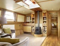 Boat Name: Brigantine – x 12 Widebeam for Sale Built To Order – Canal Boat … - Vanlife & Caravan Renovation