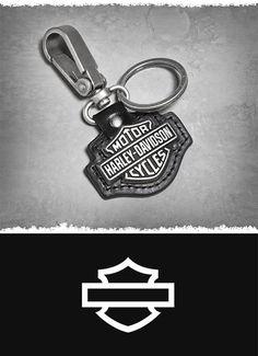 Key fob: fancy word for key chain. | Harley-Davidson Bar & Shield Logo Key Fob