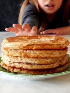 Food for thought Banana Pancakes, Food For Thought, Brunch, Baking, Healthy, Breakfast, Desserts, Recipes, Food Ideas