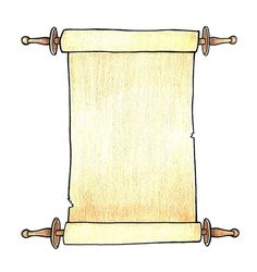 How to Draw a Scroll- Jeremiah asked his friend, Baruch, to write down the words God spoke to Jeremiah & then read the scroll to the people of Judah. Bible Story Crafts, Bible Stories For Kids, Bible Crafts For Kids, Preschool Crafts, Jesus Crafts, Vbs Crafts, Kids Sunday School Lessons, Sunday School Crafts, Bible Lessons