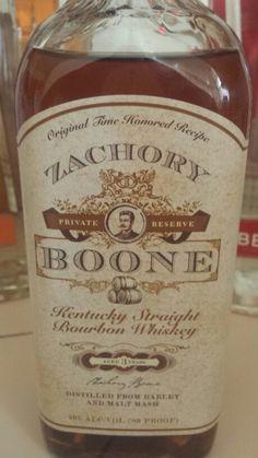Zachary Boone Kentucky Whiskey