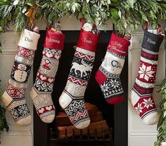 Boasting classic icons, our Natural Fair Isle Stocking Collection combines elements of a traditional Fair Isle knit combined with modern design. Grounded in charcoal and gray tones, this stocking collection makes for a stylish holiday addition ato… Christmas Party Games, Diy Christmas Tree, Christmas Stockings, Christmas Ornaments, Christmas 2019, White Christmas, Christmas Ideas, Pet Stockings, Celebrating Christmas