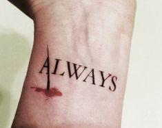 "Castle TV Show "" Always "" tattoo. Nathan Fillion - Richard Castle fan"