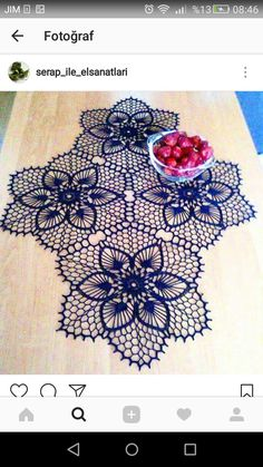 Best 9 It is a website for handmade creations,with free patterns for croshet and knitting , in many techniques & designs. Doily Art, Lace Doilies, Crochet Doilies, Crochet Lace, Crochet Doily Diagram, Crochet Motif, Crochet Designs, Crochet Books, Thread Crochet