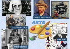 Juegos y recursos de arte https://colepeques.blogspot.com.es/2016/01/xogando-e-aprendendo-coa-arte.html