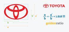 Golden Ratio in logo designs