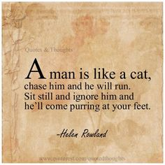 Men are like cats playful and curious and they love when they get attention of the one they are interested of..