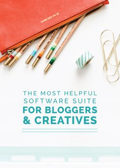 The Most Helpful Software Suite for Bloggers and Creatives - Elle & Company