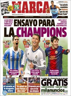 Los Titulares y Portadas de Noticias Destacadas Españolas del 30 de Marzo de 2013 del Diario Deportivo MARCA ¿Que le parecio esta Portada de este Diario Español?