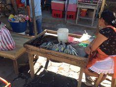 Mercado Granada, Nicaragua Don't eat the fish !
