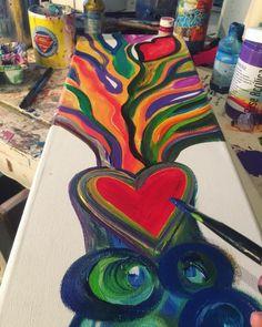 Creative MODE #surfeandoelciclön #patogilvillalobos #happyartbypato #arboles #arbol #arte #loveart #artealdia #