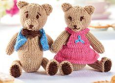 Baby Knitting Patterns Arm Teddy Bear's Picnic Free Toy Knitting Pattern Knitted Teddy Bear, Crochet Teddy, Teddy Bears, Teddy Bear Knitting Pattern, Animal Knitting Patterns, Crochet Patterns, Vintage Knitting, Free Knitting, Teddy Bear Clothes