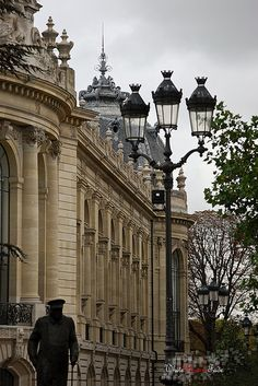 Le Petit Palais in Paris - French Architectural Details