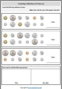 adding collection coins money worksheet shopping maths money worksheets worksheets money. Black Bedroom Furniture Sets. Home Design Ideas