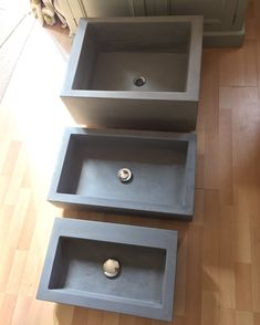 A few sinks in our collection head over to our Etsy for more details Concrete Bath, Concrete Crafts, Concrete Projects, Large Bathroom Sink, Bathroom Vanity Decor, Bathroom Sinks, Brick Design, Concrete Design, Diy Furniture Easy