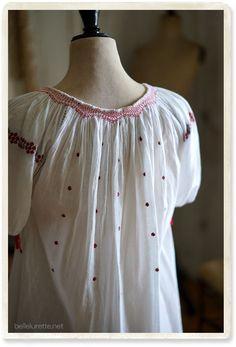 Romanian blouse!