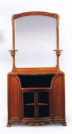 Louis Majorelle (France 1859–1926), Nancy, Cabinet, Mahogany.