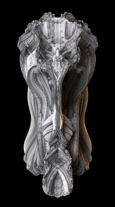 """Image 8 of 11 from gallery of 3D Printed """"Arabesque Wall"""" Features 200 Million Individual Surfaces. Design development. Image © Hansmeyer / Dillenburger"""