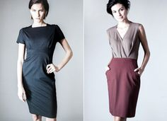 A new line of work-ready dresses from MM Lafleur.