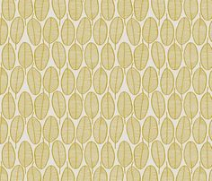 JANI_MUSTARD fabric by glorydaze for sale on Spoonflower - custom fabric, wallpaper and wall decals