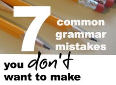 In honor of National Grammar Day, let's set the record straight on these grammar hang-ups!