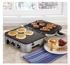Review ~ Cuisinart 5-in-1 Panini Press, Grill & Griddler