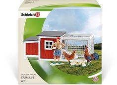 Schleich North America Chicken Coop Playset - Toys 4 My Kids