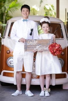 Custom-made Hawaii Wedding Photo Produce by The Sweet Closet
