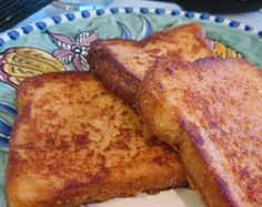 Veggie Muse: Egg Free, Wheat Free and Soy Free French Toast Recipe..this makes me hungry...oh so hungry!