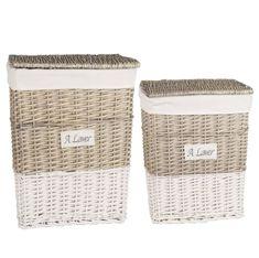 Nuevo práctico almacenamiento de plástico de cocina Oficina Hogar Dormitorio Peg cestas con asas
