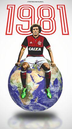 Lembrar vc, sou Campeão Mundial!! #IssoAquiEFlamengo #maestro #Júnior #Flamengo Football Stickers, Football Cards, Football Players, We Are The Champions, Ronaldo, Caricature, Soccer, Cartoon, Sports