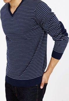 Jack Stuart 100% cotton V-neck sweater | Fashion Inspire ...
