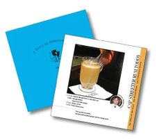 A complimentary cocktail recipe book will be given to guests at the Artisan Market Streeterville 2013:  303 E. Superior St. Chicago, IL  November 9 (10-5 pm), and Sunday, November 10 (10-4 pm)